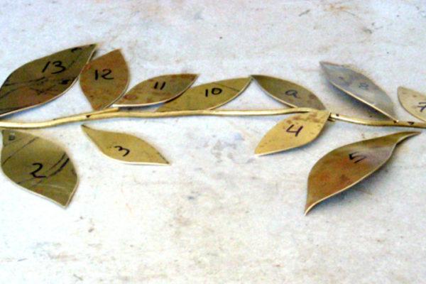 Cinturón novia - Preparación para soldar (Paso 3)