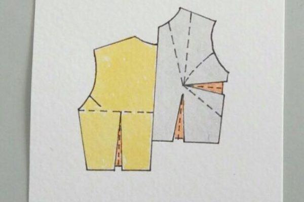 Broche - Proceso de trabajo con metal: Diseño seleccionado