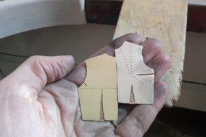 Broche - Proceso de trabajo con metal: Paso 10