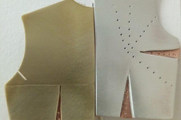 Broche - Proceso de trabajo con metal: Paso 13
