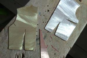 Broche - Proceso de trabajo con metal: Paso 3