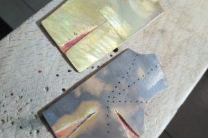 Broche - Proceso de trabajo con metal: Paso 6